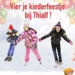 Kinderfeestje Thialf Catering van 't Hooge