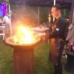 Catering van 't Hooge partycatering hapjes kok