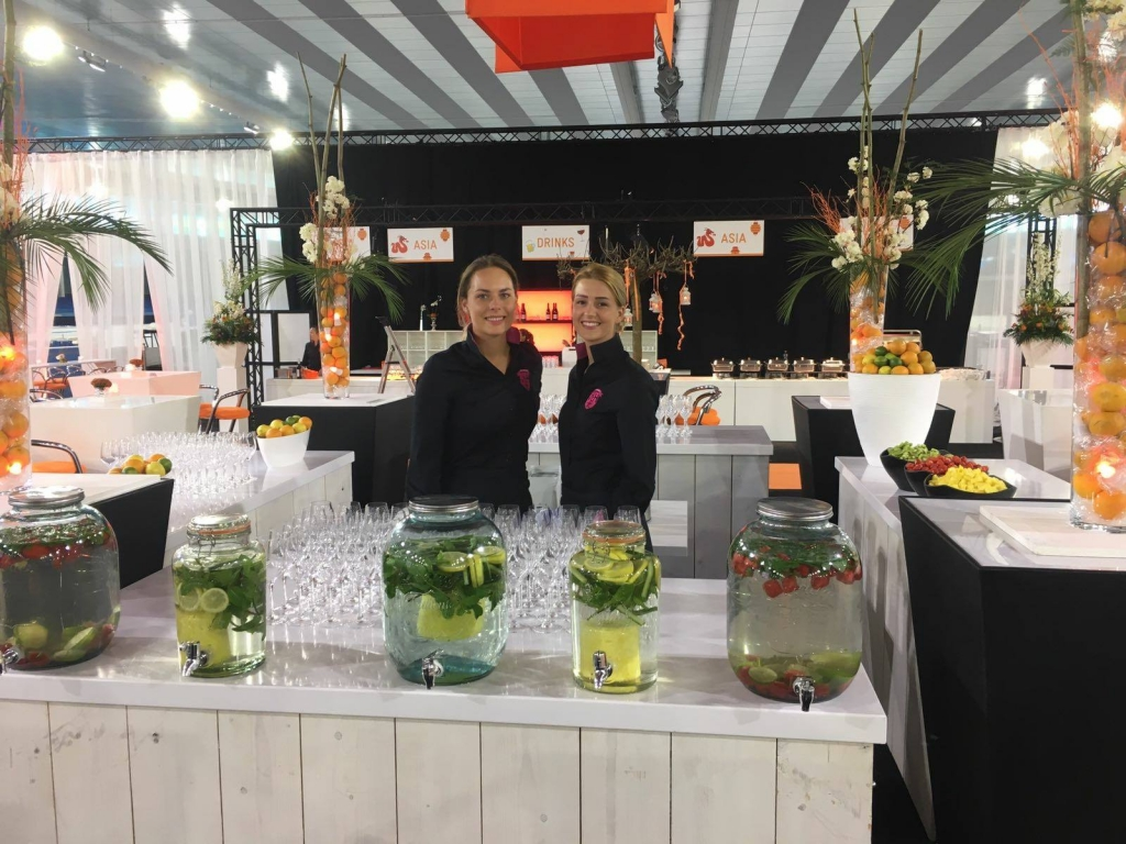 Catering van 't Hooge event catering Smoothie fruitwater