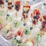 Amuseglaasjes Catering van 't Hooge productpresentatie
