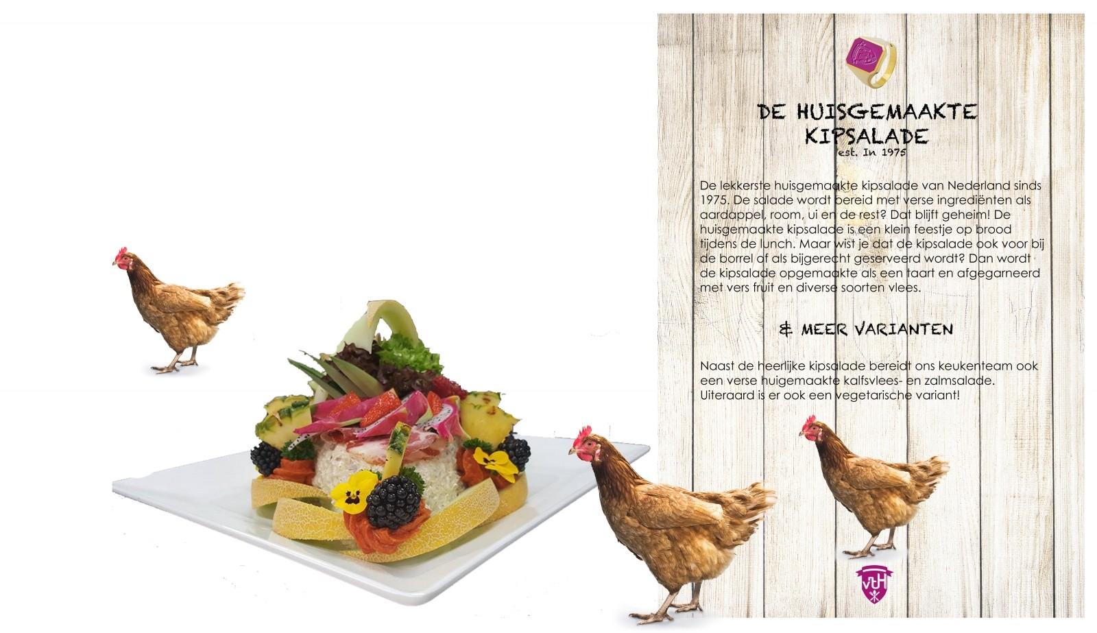Huisgemaakte Kipsalade Top Product Catering van 't Hooge Bedrijfsrestaurant
