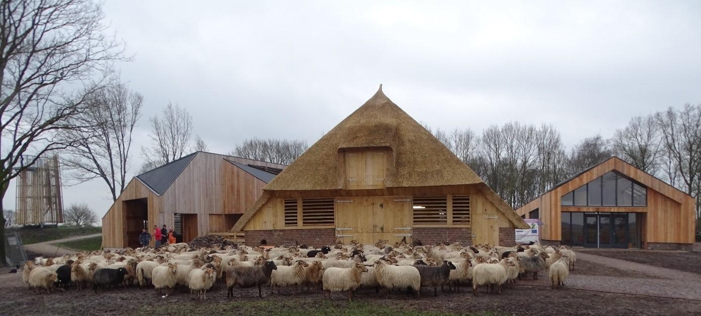 Schaapskooi Ruinen vergaderlocatie Drenthe Catering van 't Hooge